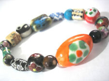 Bracelet Item 5365 Multicolor Porcelain Bead Stretch