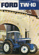 """Ford """"TW-10"""" Tractor Brochure Leaflet"""