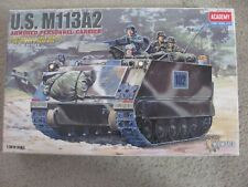 Academy 1/35 Wire Remote Control Motorized US M113A2 Armored Personnel Carrier