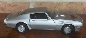 1973  Pontiac Firebird Trans Am Die-cast Model SILVER MOTOR MAX BRAND NEW