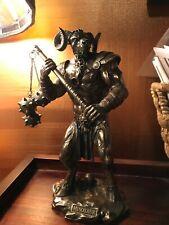Greek Mythology Minotaur Bronzed Finish Statue Cold Cast Resin - 10 Inches Tall