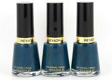 3x Revlon Nail Polish Varnish 471 Fashionista Job Lot Clearance Blue Turquoise
