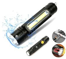 Multifunctional Flashlight USB Inside Rechargeable Battery Powerful T6 Torch LED