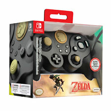 Pdp Official Nintendo Switch Wired Fight Pad Pro Controller *Link Edition* Black