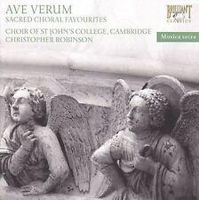 Cambridge; Christopher Robinson Choir of St. Johns College : Ave Verum  Sacred C