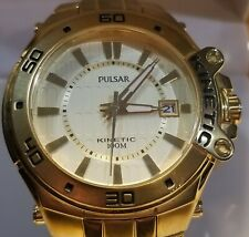 L@@K Pulsar Kinetic YT57-X039 Wristwatch New Capacitor & Box
