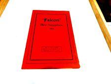 Falcon Bee Supplies – 1928 Catalog
