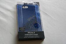 BNIB Just CAVALLI Blue Iridescent iPhone 5/5S Case. Gift idea!