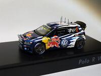 PROMO : VW Volkswagen Polo R WRC #2 de 2015 Latvala / Anttila au 1/43 de spark