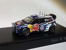 Volkswagen Polo R WRC #2 Latvala Rally Monte Carlo 2015 1/43 Spark