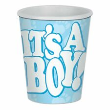 It's A Boy! Beverage Cups 9 Oz 8 Pieces Baby Shower Decorations