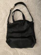 Kelsi Dagger Brooklyn Black Soft Leather Shoulder Bag