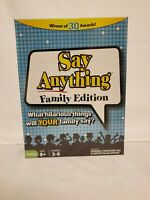 Say anything family edition game what hilarious things will your family say?