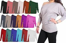 Unbranded Plus Size One Shoulder Tops & Shirts for Women
