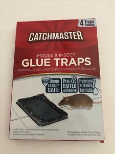 Catchmaster Professional Strength Disposable Mouse & Insect Glue Traps