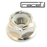 M12 Titanium NYLOC Lock Nut self locking Flange Ti GR 5 x 1.25 CNC Nylon NYLOCK