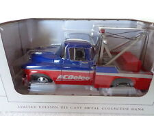 SPEC CAST BY LIBERTY CLASSICS  DIE-CAST COIN BANK 57 CHEVY AC DELCO WRECKER
