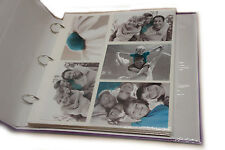 Large 6x4 Ringbinder  Photo Album  20 Refill Sheet  For Holds 200 Photos AL-6774