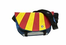 Crumpler The Barney Rustle Blanket Messenger Bag (Navy/Royal Blue Red/Yellow)