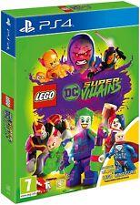 LEGO DC Super Villains PS4 PlayStation 4 Game - NEW - Lex Luthor Rare Edition