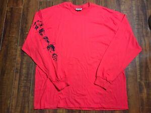 Boot Boyz Biz Xmal Deutschland/23 Envelope Long Sleeve T Shirt Red Size 2XL
