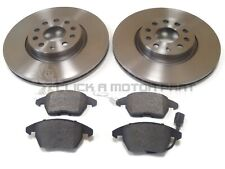 VW GOLF V MK5 2.0 GTi 2004-2009 FRONT 2 BRAKE DISCS 312MM AND PADS (CHECK SIZE)
