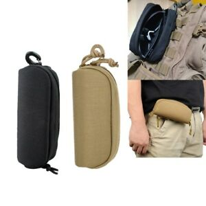 Tactical MOLLE Glasses Shockproof Protective Box Portable Outdoor Sunglasses Bag
