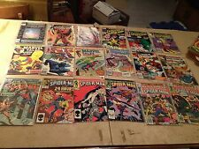 Spiderman Comics - 18 - incl- Amazing, Spectacular, Peter Parker,Web, Anniv issu