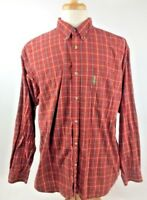 Columbia Mens Shirt Long Sleeve Size Sz XL Button Front Long Sleeve Cotton 7017