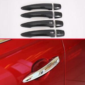 For Nissan Teana Altima 2019-2020 ABS carbon fiber exterior door handle trim