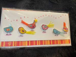 Luxury 3d Glitter Sparkle Feather Exotic Bird Birthday Card Birds Birdy