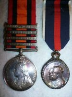 Queen's South Africa Medal 1899-1902 Pair to The Canadian Scouts