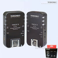 Yongnuo Wireless TTL YN-622C II  Flash Trigger for Canon 580EXII 6D 7DII 60D 70D