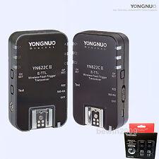 Yongnuo TTL YN-622CII Flash Trigger for Canon 600EX T5i/700D 650D 550D 600D 450D