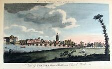 18th Century View of Chelsea from Battersea Church Yard