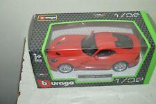 Car Burago 2013 Str Viper Gts Die-Cast New Sealer 1/32 Car