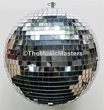 """10"""" inch Glass Disco MIRROR BALL Reflective Dance Party Light 1970's Decoration"""