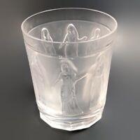 "Lalique Femmes Antiques Crystal Whiskey Tumbler 4"""