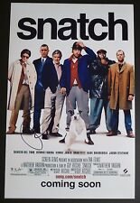 """JASON STATHAM Authentic Hand-Signed """"SNATCH"""" 11x17 Photo (PROOF)"""