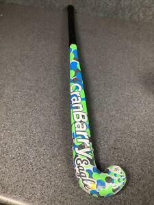 """CranBarry Eagle Field Hockey Stick 36"""" Multicolored Neon Green /Bright Blue M13B"""