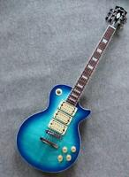 Firefly NEW FFLP 3 PICkUPS ELECTRIC GUITAR (Transparent Blue ) BO3-super-bundle