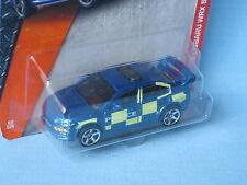 Matchbox Subaru Impreza WRX Police Blue Batternberg Toy Model Car 70mm in BP