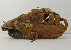 "Wilson A2800 1st First Base 13"" Baseball Glove Pro Stock Nylon Stitched RHT"