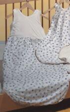 Prolana Babyschlafsack Kinderschlafsack BOBO 90 cm, Baumwolle (kbA) Plüschfutter
