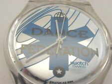 """Ice dance"" swatch watch 1994 VINTAGE UNWORN"