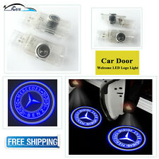 2 x Ghost Door Courtesy Shadow Laser Blue Light  Mercedes-Benz GL-ML-R 2005-2012