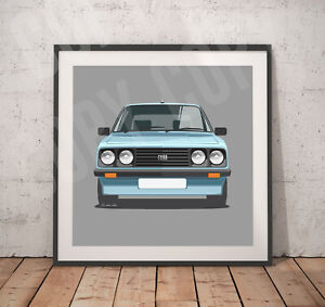Ford Escort RS2000 Print - Various sizes on request