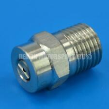 More details for pressure washer jet wash spray nozzle 1/4 thread (select fan angle and jet size)