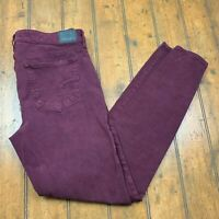 American Eagle Womens Hi Rise Jegging Jeans Size 10 Long Purple Super Stretch