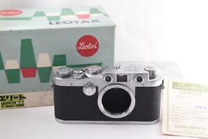Leotax Elite Leica Screw Mount Rangefinder RF LTM M39 Camera Body #307054